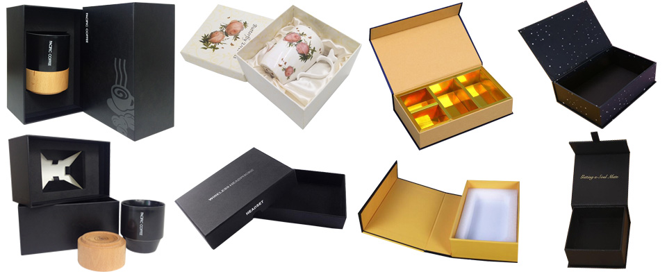 What rigid gift box style should I choice between magnet